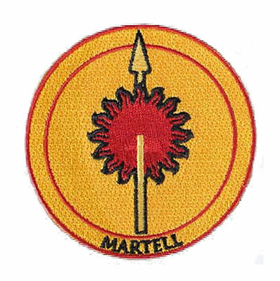 Game of Thrones House Martell Iron On/Sew On Patch Official Licensed Product