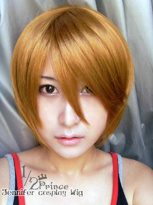 Death Note Light Yagami cosplay Wig costume 02