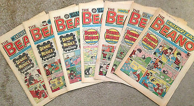 1980's BEANO COMICS     ******Deals Available for Mulitple Purchases*****