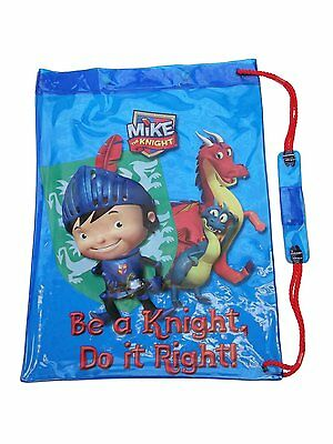 Official Mike The Knight - Be A Knight - Blue Swim Bag