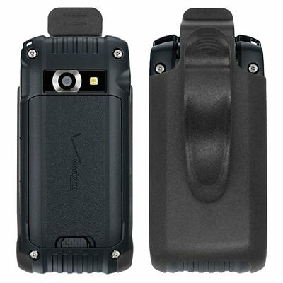 For Casio G'zOne Ravine 2 C781 Black Swivel Belt Clip Holster