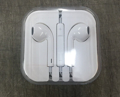 Authentic Apple EarPods w Remote & Mic Earbuds Headphones for iPhone 5 5s 6 Plus