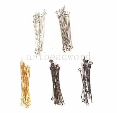 DIY craft Eye pin needle Iron variations color jewelry marking supply me23