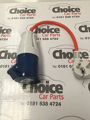 230v Euro Caravan Hook Up Lead Adaptor