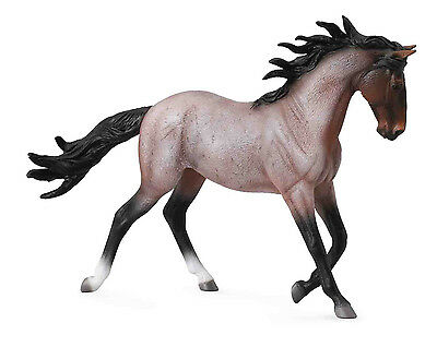 Mustang Mare Bay Roan # 88543  FREE SHIP/USA $25.+ Collecta Products