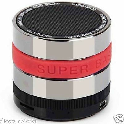 SUPER BASS Bluetooth Wireless Mini Portable Stereo Speaker iPhone iPad Samsung S