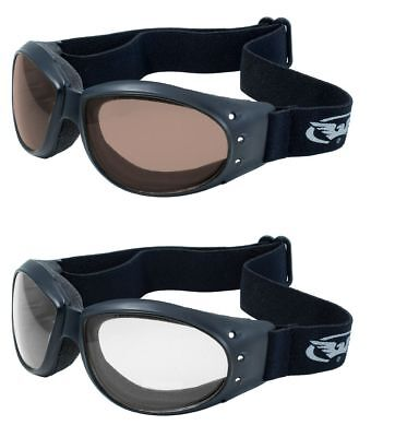 (2 GOGGLES) Motorcycle Riding Clear Driving Mirror Glasses Sunglasses Free Bags