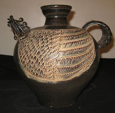 Antique Chinese Southern Song dynasty Pottery Tea Pot, 12th or 13th Century, NR