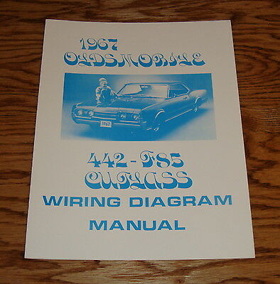1967 pontiac firebird wiring diagram manual 67 • 9 00 picclick 1967 oldsmobile cutlass 442 f85 wiring diagram manual 67