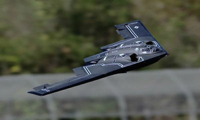 "Giant Scale B-2 SPIRIT scatch build R/c Plane Plans & Instr 96""ws ELECTRIC POWER"