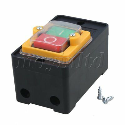 New Water Proof 10A 380V ON/OFF Push Button Switch for Car Cleaning Machine