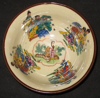 Antique Chinese Porcelain Hand Painted Bowl, 19Th Century - Qianlong Mark, Nr.