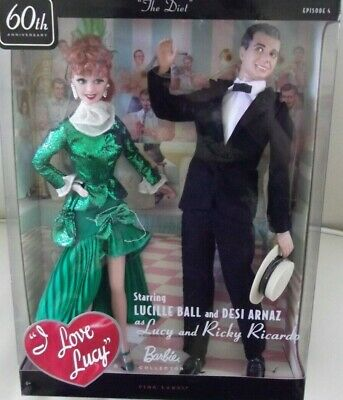 I Love Lucy Lucille Ball & Ricky Ricardo Episode 4 The Diet Giftset Dolls