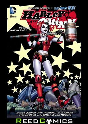 HARLEY QUINN VOLUME 1 HOT IN THE CITY GRAPHIC NOVEL Collects (2013) #0-8