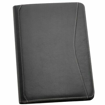 1 x A4 Leather Compendium made from Full Grain Genuine Leather Fast Delivery-New