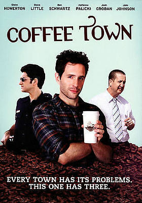 COFFEE TOWN - GLENN HOWERTON   JOSH GROBAN  20156 DARK COMEDY DVD