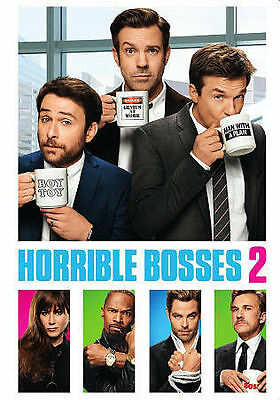 HORRIBLE BOSSES 2 - JASON BATEMAN   CHRIS PINE  2015 COMEDY DVD WS