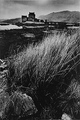 Jeanloup Sieff Limited Edition Photo Heliogravure 24x31cm Château en Écosse 1972