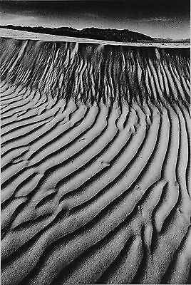 Jeanloup Sieff Photo Heliogravure 24x31 Vallée de la Mort, 1977 Death Valley B&W