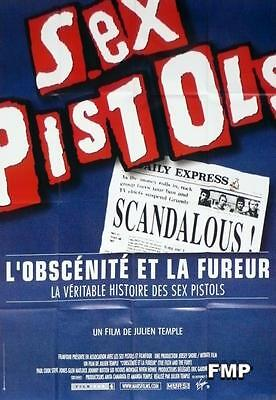 Sex Pistols - The Filth And The Fury - Punk Document Original Large Movie Poster