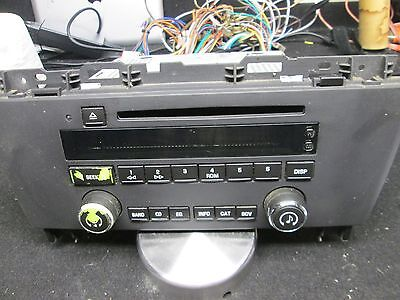 BUICK LACROSS am/fm cd player #10391272 (works great )