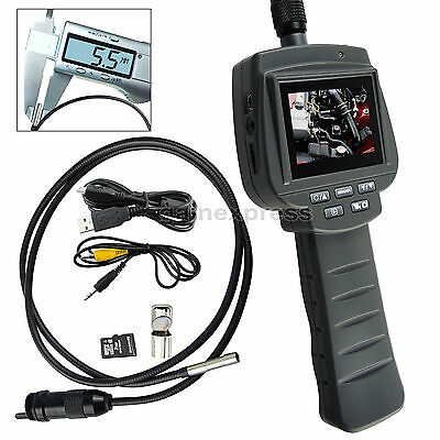 5.5mm Camera Record Video Inspection Borescope Pipe Car Engine Scopes 1m Cable