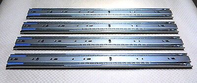 """Accuride C3507-20 Heavy-Duty 20"""" Drawer Slide 200Lb Load Rating (Set Of 4) New"""