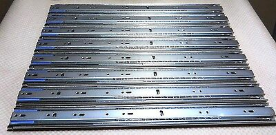"""Accuride C3507-20 Heavy-Duty 20"""" Drawer Slide 200Lb Load Rating (Set Of 8) New"""