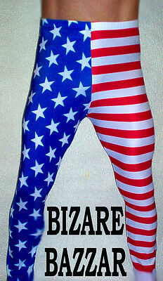 American Spandex Tights / Wrestling / Costume
