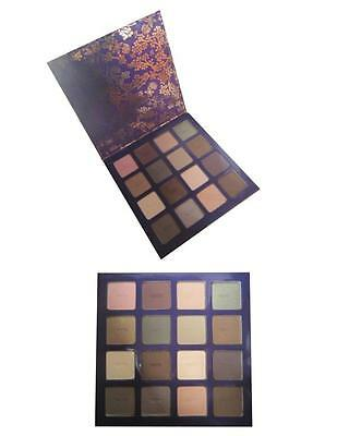NEW Tarte 16 Color BOW & GO AMAZONIAN CLAY EYE SHADOW PALETTE Set Kit BOXED