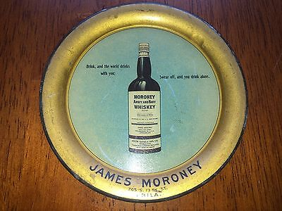 Tip Tray James Moroney Army and Navy Whiskey