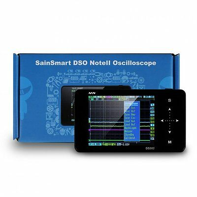 ARM Mini Touch Nano Pocket DSO202 Digital 2CH Channel Storage Oscilloscope DE.
