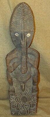 Old or Antique Oceanic New Guinea Tribal Wood Carving