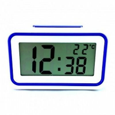 Reloj Despertador Digital Reloj Multifuncion Con Voz Temperatura Snooze Lcd
