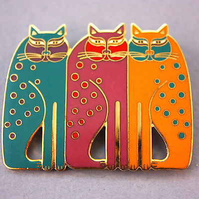 Vintage Siamese Cats pin by Laurel Burch!
