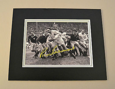 Bill Beaumont Signed 10x8 Photo Autograph Display England Rugby Memorabilia COA