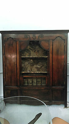 A Vast, Unique 18Th Century Chestnut Marriage Dresser - Absolute One Off