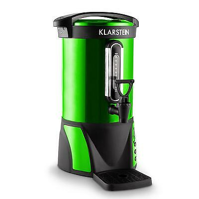 6.8L Catering Electric Water Boiler Urn Coffee Tea Party Event Food Stall Green