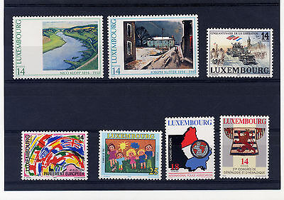 LUXEMBOURG 1994 lot.018 stamps - mnh