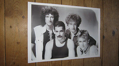 Freddie Mercury Queen supergruppo POSTER #3