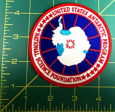 United States Antarctic Program Antarctica Embroidered Patch natl science, NEW