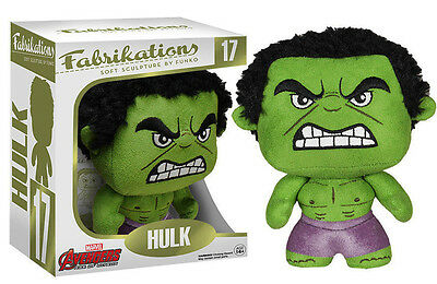 NEW Avengers 2 Incredible Hulk Funko Fabrikations Soft Sculpture Plush