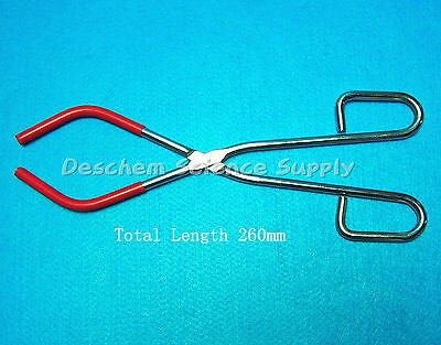 Lab Beaker Tongs,Iron Holder,Clip,Total Length 260mm