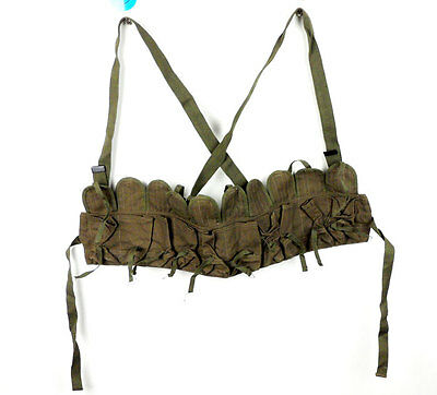 Chinese PLA Magazine Bag Canvas SKS Chest Rig SKS Magazine Bag 10 POUCH-D779
