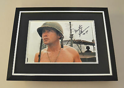 Martin Sheen Signed Framed 16x12 Photo Display Apocalypse Now Autograph + COA