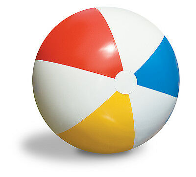 """Inflatable Blow up Panel Beach Ball 16"""" 40cm Fun Holiday Party Swimming Garden"""