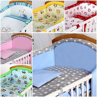 high quality COT BUMPER FILLED LOTS OF PATTERNS FOR COT OR COT BED