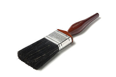"3"" Hamilton Perfection Pure Black Bristle Paint Brush"
