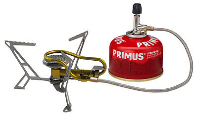 Primus Express Spider II Stove Gas Lightweight Compact Motorcycle Camping
