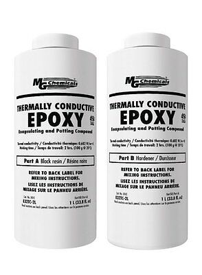 MG Chemicals 832TC-2L Thermally Conductive Epoxy 2 Liter Bottle
